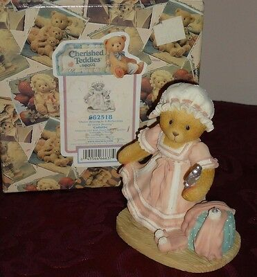 """Cherished Teddies """"Outer Beauty is a Reflection of Inner Beauty"""" Figurine w/box"""