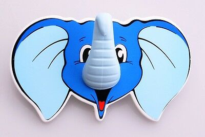 Children hook with Elephant Motif for children's room Wardrobe Wall hook