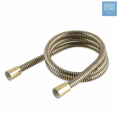 GOLD Shower Hose 1.5m PVC Bathroom Universal *Replace Mira Grohe Triton