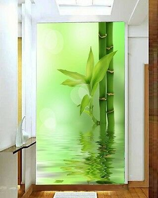 3D LUCKY BAMBOO Wall Paper Wall Print Decal Wall Deco Indoor wall Murals