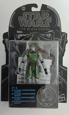 Star Wars Clone Commander Doom Black Series Bsa13