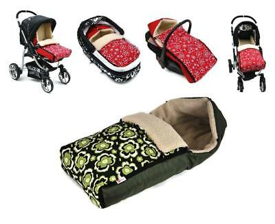 Cosy Warm Baby Boy Girl Sheep Wool Wrap Pushchair Pram Car Seat Sleeping Bag Mat