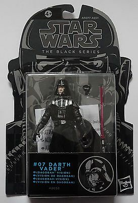 Star Wars Darth Vader Dagobah Test Black Series Bsa07