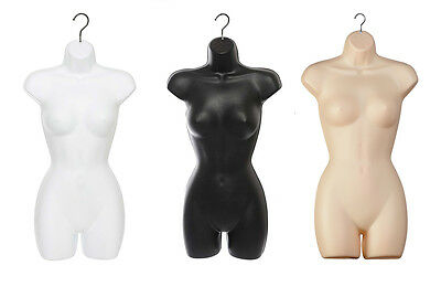 Quality Guaranteed Female Hanging Full Body Mannequin  Form Torso Display