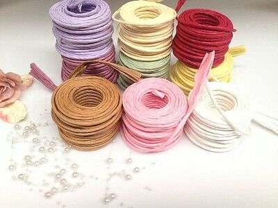 Paper Rope       4mm Wide  Per Meter