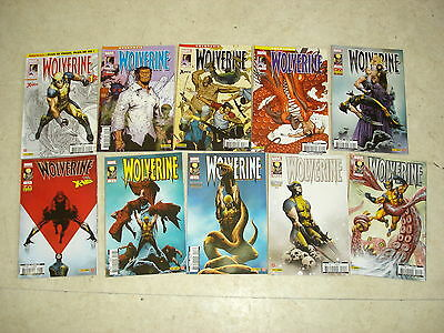 WOLVERINE n°1 à 10  Lot de 10 comics
