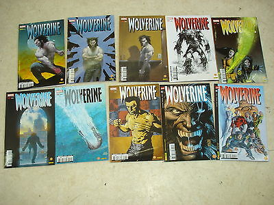 WOLVERINE n°111 à 120  Lot de 10 comics