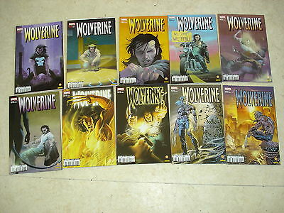WOLVERINE n°121 à 130  Lot de 10 comics