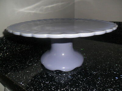 Price Kensington Lilac Fluted Cake Stand