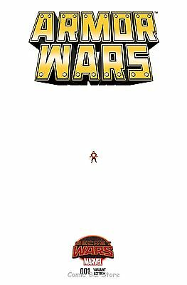 Armor Wars #1 (2015) 1St Printing Scarce 1:15 Perry Ant-Size Variant Cover Swa