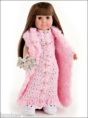 Dress Up Fashions For 18 Fashion Dolls Crochet Patterns Annies