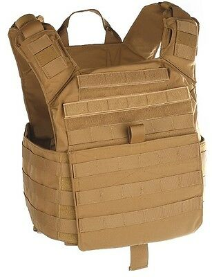 Shellback Banshee Rifle Plate Carrier MOLLE Tactical Assault Gear TAG COYOTE TAN
