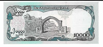 10000 Afghanistan 10,000 Afghanis 1 x 10000 Afghanis Note - Lot Of 1 Note