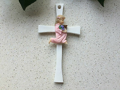 Large Cross  for baby  Gril 1st  Communion  Gift