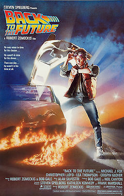 Back To The Future Spielberg Movie Fox  A1 Size Poster  Art For Frame Print