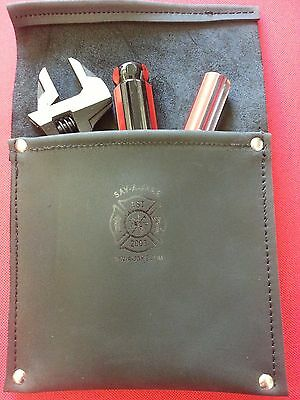 Sav-A-Jake Firefighter Leather Pocket Tool Pouch