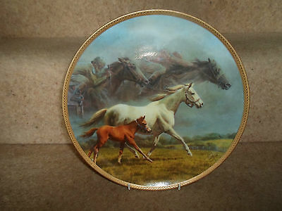 Rare Plate 1987 ETERNAL LEGACY By Fred Stone ~ Limited Edition Made in U.S.A.