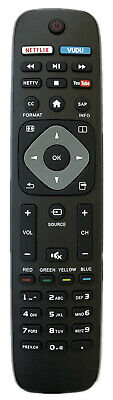 New USBRMT REPLACEMENT PHILIPS TV Remote 242254901868 Fit most of Philips TV