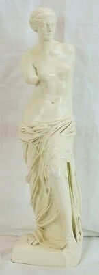 Austin Productions Chalkware Classical Grecian Roman Woman Sculpture Statue 18""