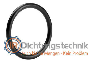 O-Ring Nullring Rundring 128,0 x 6,0 mm NBR 70 Shore A schwarz (1 St.)