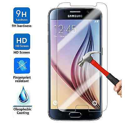 100x Wholesale Lot Tempered Glass Screen Protector for Samsung Galaxy S6