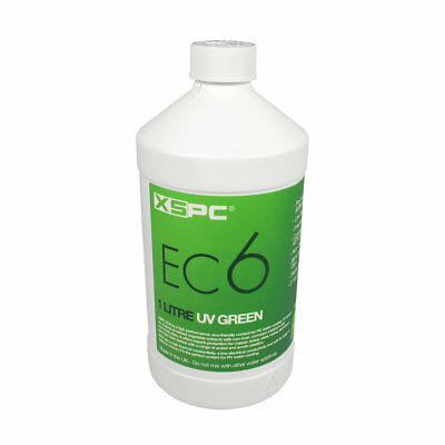 XSPC EC6 Pre Mixed Water Cooling Liquid Coolant UV Green Fluid