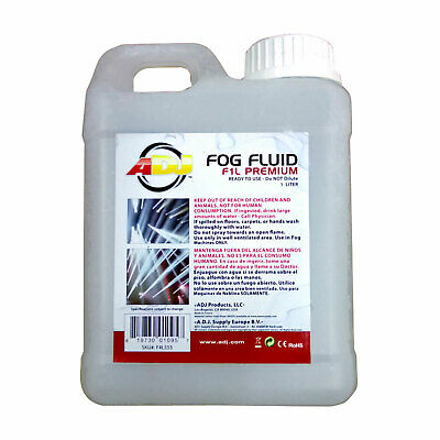 American DJ ADJ F1L Premium - 1 Liter of High Quality Fog Juice