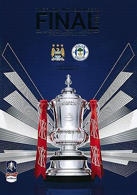 FA CUP FINAL 2013: Manchester City v Wigan Athletic