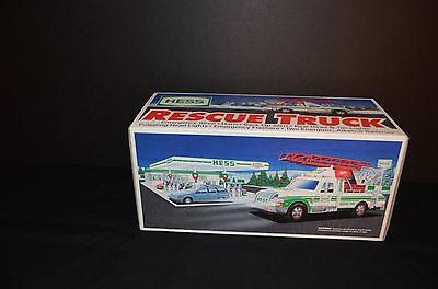 1994 Hess Toy Rescue Truck - New