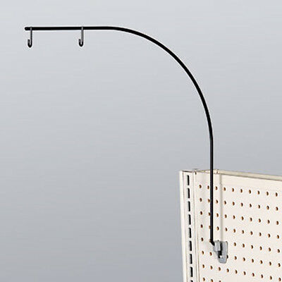 Gondola Aisle Sign Holder - Black- Lot of 10
