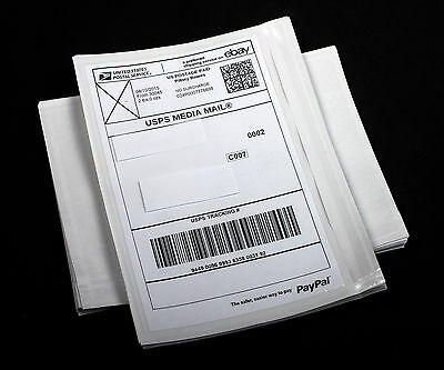"100 Shipping Label Pouches Sleeves Envelopes Packing List 5.5"" x 7""  FREE SHIP"