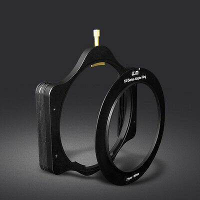 Metal 100mm Square Filter Holder + 77mm Slim Ring for Lee Hitech Cokin Z Series