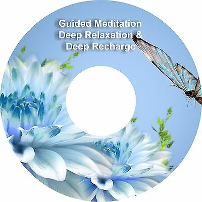 2 x Guided Meditation Sessions Deep Recharge & Deep Relaxation On 1 CD Healing