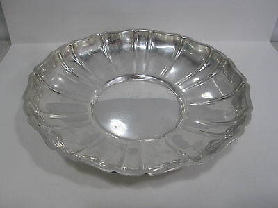 Vintage Wallace #210 Sterling Silver Scalloped Dish 5.75""
