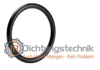 O-Ring Nullring Rundring 167,0 x 2,5 mm NBR 70 Shore A schwarz (1 St.)