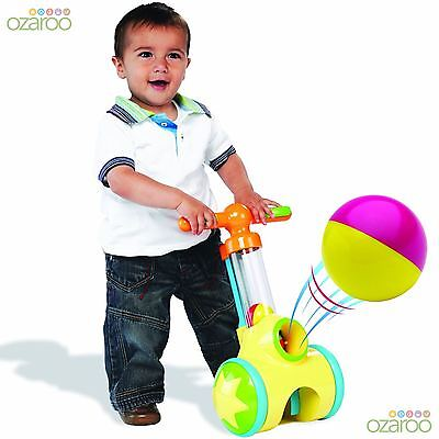 TOMY Play to Learn Pic 'n' Pop Walker Baby Toddler Fun Activity Walking Aid Toy