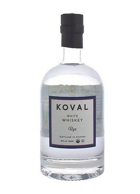 Koval Single Barrel White Rye Whiskey 750ml Certified Organic