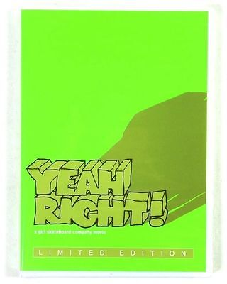 GIRL SKATEBOARDS Yeah Right Skateboard Video DVD NEW 2004 Limited edition aust