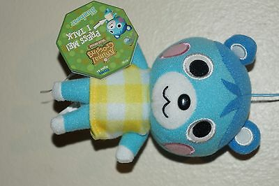 NINTENDO TOMY  ANIMAL CROSSING WILD WORLD PRESS ME I TALK  PLUSH BLUEBEAR 5''