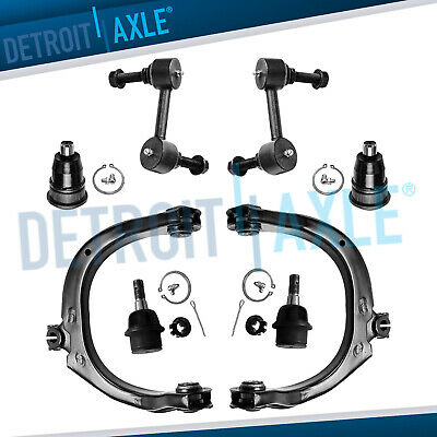 Brand New 8pc Front Suspension Kit Chevy GMC Ascender Bravada Envoy Trailblazer