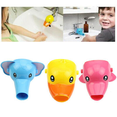 Faucet Extender For Helps Children Toddler Kid Hand Washing in Bathroom Sink New