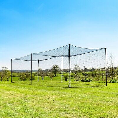 FORTRESS 35' Ultimate Baseball Batting Cage [Inc. Frame + Net] 24hr Ship.
