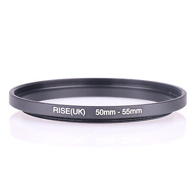RISE (UK) 50-55 MM 50MM- 55MM 50 to 55 Step UP filter Ring Filter Adapter