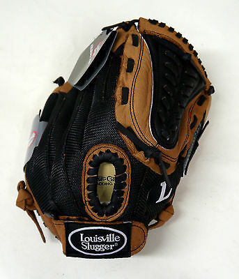 "Louisville Slugger Genesis Leather 12"" LH Baseball Glove for RH Arm Youth Left"