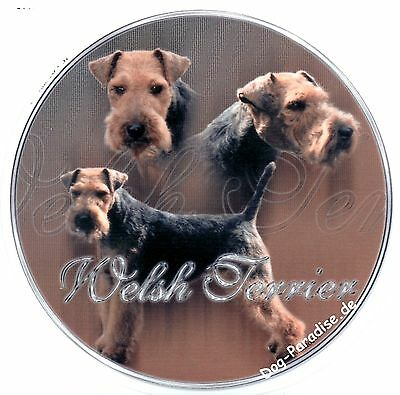 Design Aufkleber Welsh Terrier Welshterrier 15cm Autoaufkleber Welsch Terrier