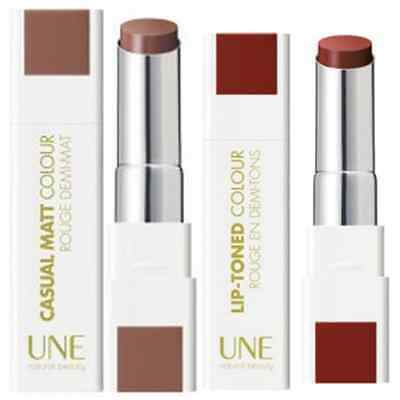 Bourjois UNE Lip Toned Colour Lipstick - Choose Your Shade - New Shades Added