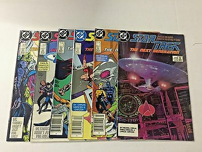 STAR TREK, The Next Generation #1-6, DC Comics Mini series, FREE SHIPPING
