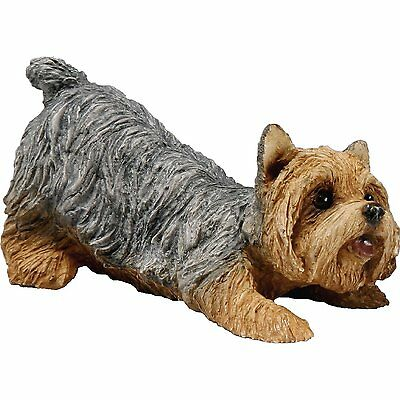 SANDICAST Sculpture Dog Figurine Puppy Small Size SS027 YORKSHIRE TERRIER