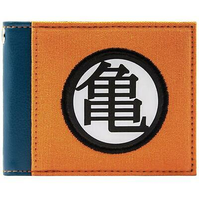 New Official Awesome Blue & Orange Dragonball Z Bi-Fold Wallet