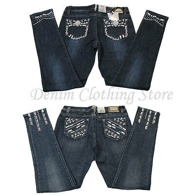 Wholesale Lot of 9 Women Juniors Denim Skinny Jeans Mixed Sizes 2 Styles